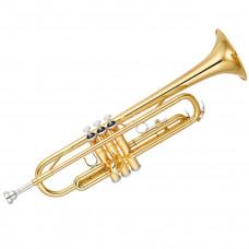 YAMAHA YTR-2330 - труба Bb стандартная модель, средняя, yellow brass, лак - золото