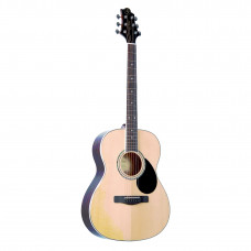GREG BENNETT GA100S/N - акустическая гитара, мини джамбо, ель, цвет натуральный