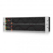 BEHRINGER FBQ6200HD - графич. эквалайзер 31-полос. 2-кан., с FBQ системой обнаружения обратной связи