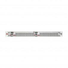 dbx 215SV - графический эквалайзер, 2-х кан., 2/3 октавный с постоянной добротностью, 15-полосный.