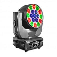 INVOLIGHT LEDMH1915ZW - голова вращения (WASH), LED 19x 15 Вт RGBW, DMX-512