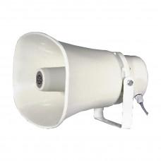 SHOW SC-30AH - громкоговоритель рупорный, 30Вт,100В, прямоугольный, цвет белый, IP66