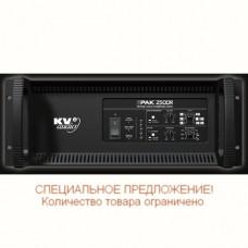 KV2AUDIO EPAK2500R - усил.-контролер 4-полосный серии ES, 2500Вт, кросс, лим., Rack, компл.ак.кабеле
