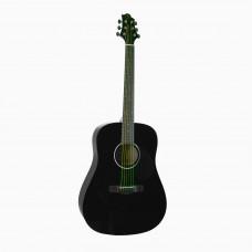 GREG BENNETT D1/BK - акустическая гитара, дредноут, нато, цвет черный