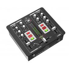 BEHRINGER VMX100USB - микшер для DJ, 2-канальный,Встроенный USB-интерфейс, МАС, РС