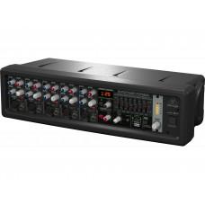 BEHRINGER PMP550M - микшер с усилителем, 500Вт, 5 каналов, 7 полосный графический эквалайзер