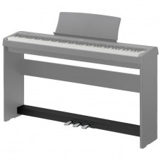 KAWAI F-350B - педальный блок с тремя педалями для цифрового пианино ES110, черный цвет.