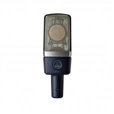 """AKG C214 - конденсаторный микрофон с 1"""" мембраной. В комплекте: держатель антивибрационный, КЕЙС"""