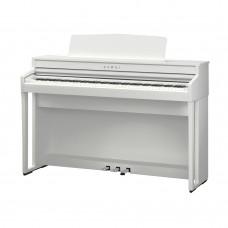 KAWAI CA49W - цифр. пианино, механика GFC, OLED дисплей, 19 тембров, 20 ВТ x 2, цвет белый матовый