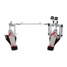 DDRUM QSDBDP - педаль двойная для бас-барабана (кардан)