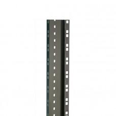 ADAM HALL 61552BLK - стальная двойная пластина (2 мм, чёрная) для рэка, длина 2 м (цена за 1 шт)