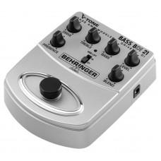 BEHRINGER BDI21 - педаль моделирования басовых усилит. / предусилитель для прямой записи / DI-бокс