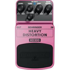 """BEHRINGER HD300 - педаль эффектов """"хэви метал""""-дисторшн,индивидуальные регуляторы"""
