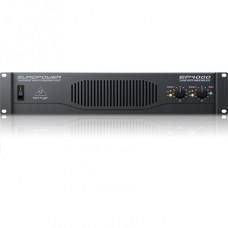 BEHRINGER EP4000 - усилитель мощности, 2х950 Вт/4 Ом,2х550 Вт/8 Ом, мост:2400 Вт/4 Ом, 1750 Вт/8 Ом