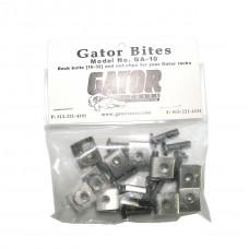 GATOR GA-10 - комплект крепежа для рэковых кейсов: болт, гайка (упаковка 10 штук)
