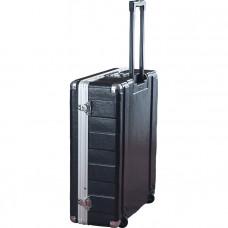 """GATOR G-MIX-12 PU - пластиковый кейс для микшеров, на колёсах, 12U, 6.5"""" глубина"""