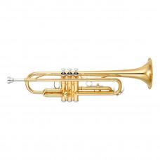 YAMAHA YTR-2330S - труба Bb стандартная модель, средняя, yellow brass, серебро