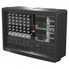 BEHRINGER PMP560M - микшер с усилителем, 500Вт, 6 каналов