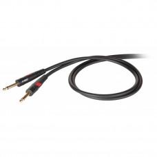 DIE HARD DHG100LU10 - проф. инструментальный кабель, 6.3 джек моно <-> 6.3 джек моно, длина - 10м