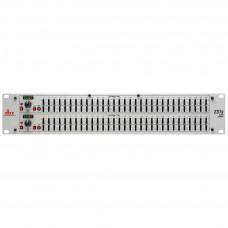 dbx 231S - двухканальный ,31-ти полосный графический эквалайзер, 1/3 октавный