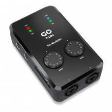 TC HELICON GO TWIN - интерфейс высокого разрешения для мобильных устройств, 2-х канальный Аудио/MIDI