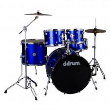 "DDRUM D2 522 CB - ударная установка , цвет Cobalt Blue , 10""-12""-16""-22"", 14х6.5"""