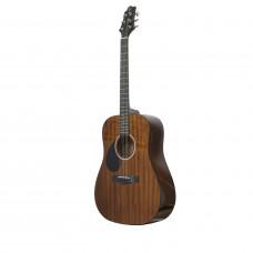 GREG BENNETT D1/LH/N - акустическая гитара, левосторонняя, дредноут, красное дерево, цвет натуральны