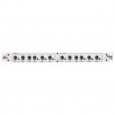 dbx 234XS - кроссовер стерео 2/3-полос., моно 4-х полосный , c XLR разъемами , серебристый