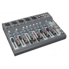 BEHRINGER 1002B - микшер,4 балансных стереовхода и 3 дополнительных микрофонных входа