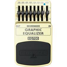 BEHRINGER EQ700 - 7-полосный графический эквалайзер для гитары или клавишных