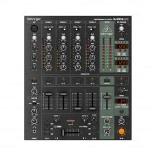 BEHRINGER DJX900USB - микшер DJ, 5-канальный, VCA кроссфейдер, цифровые эффекты,USB/аудио интерфейс