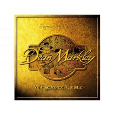 DEAN MARKLEY 2008 - струны для акустической гитары, 010-047