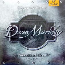 DEAN MARKLEY 2502 Signature - струны для электрогитары (8% никел. покрытие) толщина 9-42
