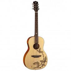 LUNA GYPSY DREAM - акустическая гитара, встроенный тюнер