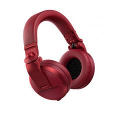 PIONEER HDJ-X5BT-R - профессиональные диджейские наушники, 5 - 30000 Гц, 102 дБ, 36 Ом, красные