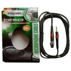 DIE HARD DH220LU10 - проф. микрофонный кабель, стерео джек <-> XLR F, длина - 10м