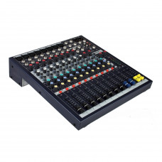 SOUNDCRAFT EPM8 - микш. пульт 8 моно, 2 стерео, 2 Aux, фейдеры 60мм. Возможен монтаж в рэк, крепле