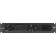 dbx 1215 - двухканальный графический эквалайзер,15-ти полосный, 2/3 октавный