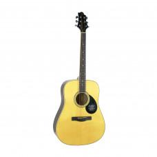 GREG BENNETT GD100S/N - акустическая гитара, дредноут, ель, цвет натуральный