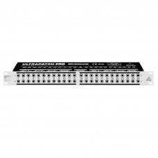 BEHRINGER PX3000 - симметричная многофункциональная коммутационная панель с 48 портами и 3 режимами