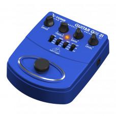 BEHRINGER GDI21 - педаль моделир. гитарных усилителей / предусилитель для прямой записи / DI-бокс