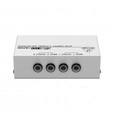 BEHRINGER HD400 - подавитель сетевого фона и шумов / пассивный DI-box 2-х канальный