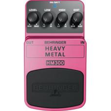 """BEHRINGER HM300 - педаль эффектов """"хэви метал""""-дисторшн"""