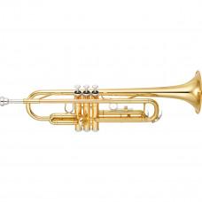 YAMAHA YTR-3335 - труба Bb студенческая, yellow brass, лак - золото