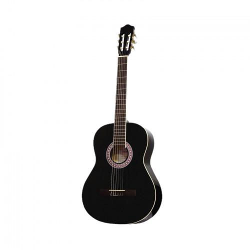 BARCELONA CG36BK 3/4 - классическая гитара, 3/4, цвет чёрный глянцевый