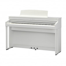 KAWAI CA59W - цифр. пианино, механика GFC, OLED дисплей, 44 тембра, 50 ВТ x 2, цвет белый матовый