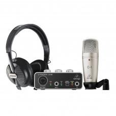 BEHRINGER U-PHORIA STUDIO - комплект для домашней студии звукозаписи