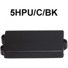 DR. PARTS 5HPU/C/BK - звукосниматель humb для 5-струнной бас гитары, закрытый, чёрн.