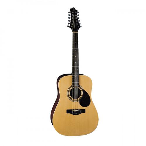 GREG BENNETT D2-12/N - акустическая гитара 12-струнная, дредноут, ель, цвет натуральный