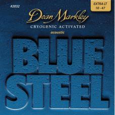 DEAN MARKLEY 2032 - струны для акустической гитары, (92% медь, 8% цинк) толщина 10-47